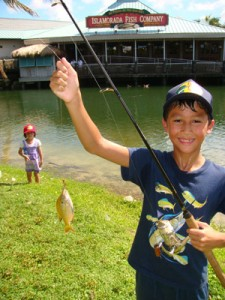 Fishing class for kids