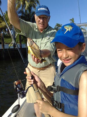 Three Generations Go Fishing